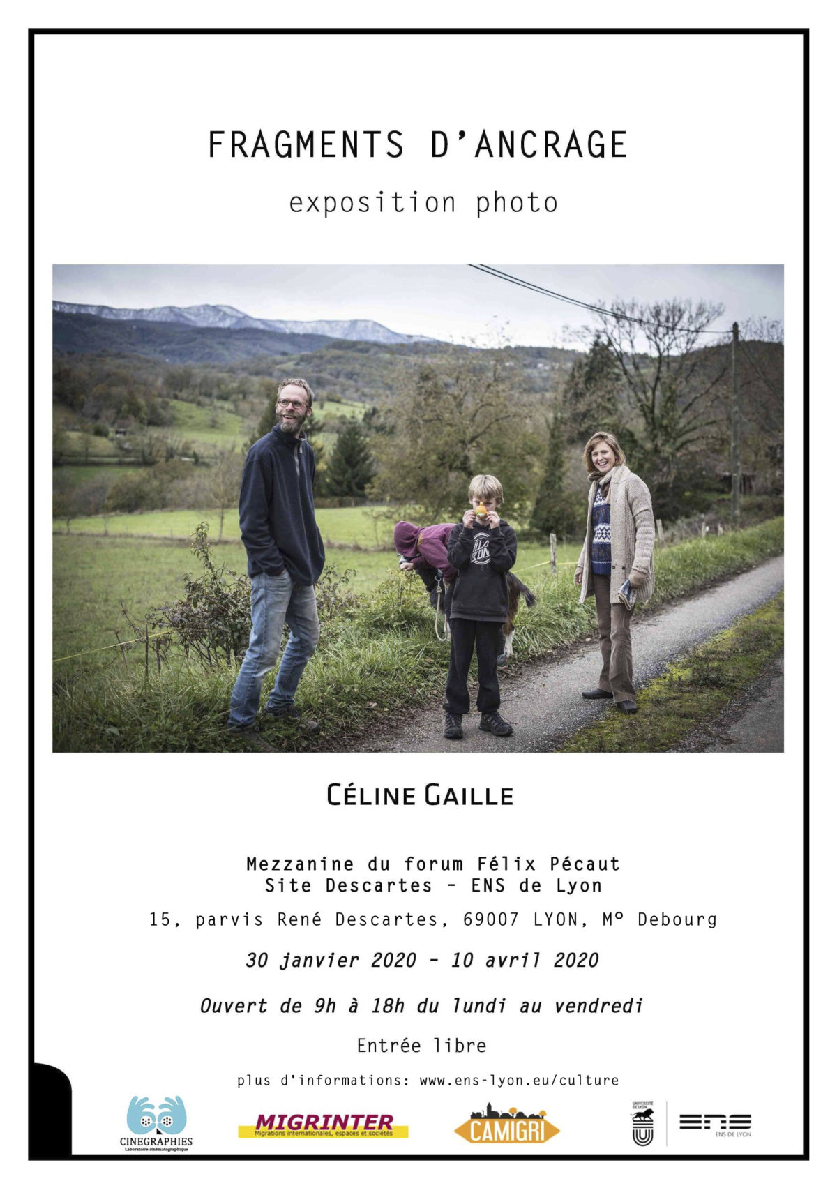 """Exposition """"Fragments d'ancrage"""""""